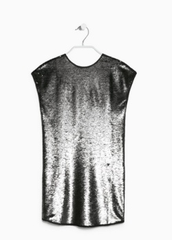 I fondly dub this dress the tent of festivity. 'Nuff said. Mango Sequin Shift Dress $129.99