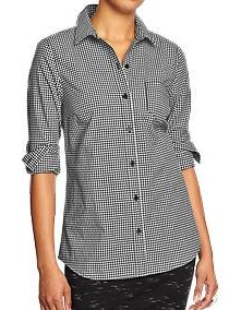 ON Womens Gingham Shirt$8.97jpg
