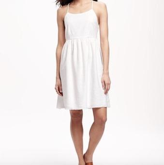 Linen Cami Dress ON