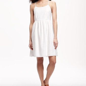 Linen Cami Dress ON