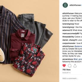 Stitch Fix Men Social Media Sample