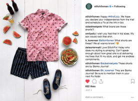 Stitch Fix Men Social Media Sample